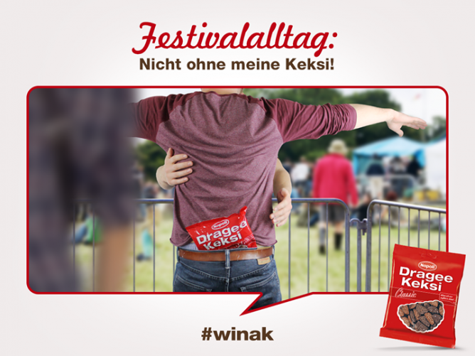 Facebook photo / Dragee Keksi: Der geheime Star jedes Festivals ;)