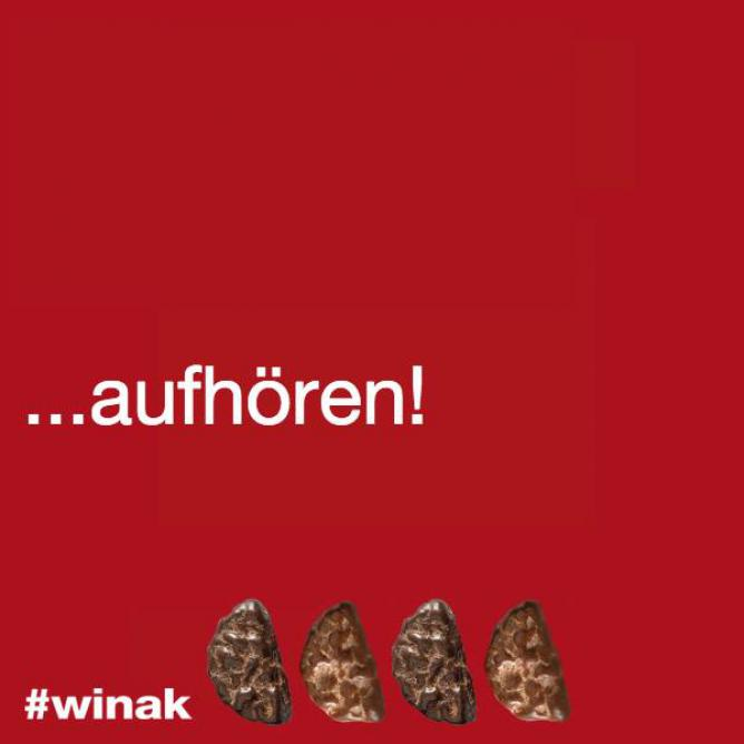 Facebook photo / Dragee Keksi: Niemals! #winak